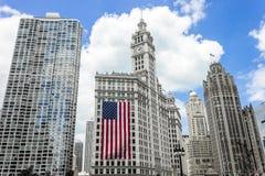 Σικάγο Ιλλινόις στοκ φωτογραφίες με δικαίωμα ελεύθερης χρήσης