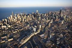 Σικάγο Ιλλινόις Στοκ εικόνα με δικαίωμα ελεύθερης χρήσης