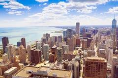Σικάγο κεντρικός Στοκ Φωτογραφία