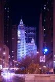 Σικάγο Μίτσιγκαν Ave στοκ φωτογραφία με δικαίωμα ελεύθερης χρήσης
