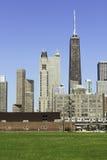 Σικάγο σε αργά το απόγευμα Στοκ φωτογραφία με δικαίωμα ελεύθερης χρήσης