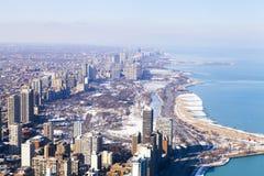 Σικάγο το χειμώνα στοκ εικόνες