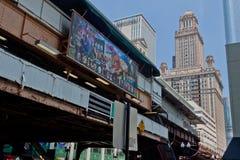 Σικάγο EL στοκ εικόνα με δικαίωμα ελεύθερης χρήσης