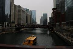 Σικάγο riverwalk στοκ φωτογραφίες με δικαίωμα ελεύθερης χρήσης