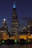 Σικάγο Skiline Στοκ Φωτογραφία