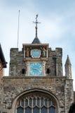 ΣΙΚΑΛΗ, ΑΝΑΤΟΛΗ SUSSEX/UK - 11 ΜΑΡΤΊΟΥ: Η εκκλησία κοινοτήτων του θορίου του ST Mary Στοκ Εικόνες