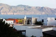 Σικελία, χρώματα της θάλασσας στοκ φωτογραφία