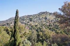 Σικελία - Monte Pelegrino στοκ φωτογραφία με δικαίωμα ελεύθερης χρήσης