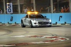 Σινγκαπούρη F1 Στοκ Φωτογραφίες
