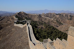 Σινικό Τείχος κοιλάδων Mutian της Κίνας Στοκ Φωτογραφίες