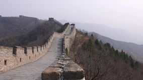 Σινικό Τείχος της Κίνας απόθεμα βίντεο