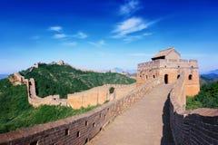 Σινικό Τείχος της Κίνας Στοκ φωτογραφίες με δικαίωμα ελεύθερης χρήσης