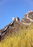 Σινικό Τείχος Huanghuacheng Στοκ Εικόνα