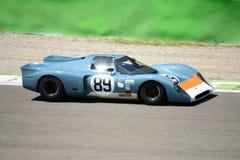 1969 σιρίτι B16 στο κύκλωμα Monza Στοκ Εικόνα