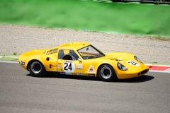 1969 σιρίτι B8 στο κύκλωμα Monza Στοκ φωτογραφία με δικαίωμα ελεύθερης χρήσης