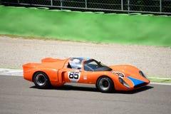 1970 σιρίτι B16 στο κύκλωμα Monza Στοκ Εικόνες