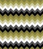 Σιριτιών ζωηρόχρωμος μαύρος άσπρος γκρίζος πράσινος σχεδίου βελών σχεδίων άνευ ραφής διανυσματικός Στοκ Εικόνες