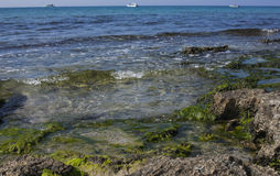 Σισιλιάνα θάλασσα Στοκ εικόνα με δικαίωμα ελεύθερης χρήσης
