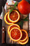 Σισιλιάνο πορτοκάλι. Στοκ φωτογραφία με δικαίωμα ελεύθερης χρήσης