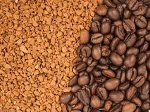 Σιτάρια καφέ, στιγμιαίος καφές Στοκ Φωτογραφία