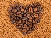 Σιτάρια καφέ, στιγμιαίος καφές Στοκ φωτογραφία με δικαίωμα ελεύθερης χρήσης