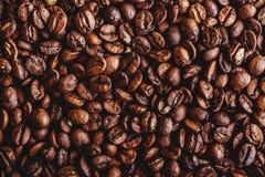 Σιτάρια καφέ Υπόβαθρο των ψημένων φασολιών καφέ καφετιών σχεδιάγραμμα στοκ εικόνα