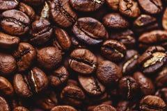 Σιτάρια καφέ Υπόβαθρο των ψημένων φασολιών καφέ καφετιών σχεδιάγραμμα στοκ φωτογραφία