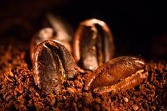 Σιτάρια του ψημένου καφέ Στοκ Εικόνες