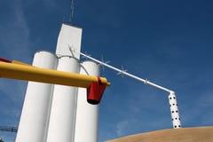 σιτάρι ανελκυστήρων Στοκ εικόνες με δικαίωμα ελεύθερης χρήσης