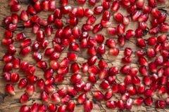 Σιτάρι και σπόροι του ροδιού Στοκ Εικόνα