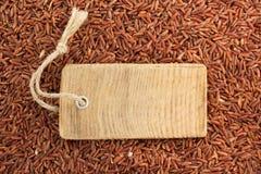 Σιτάρι ρυζιού ως υπόβαθρο Στοκ Εικόνες
