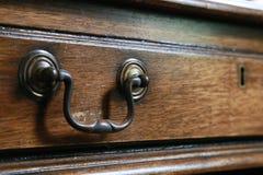 Σιτάρι του ξύλινου σχεδίου του συρταριού Στοκ Φωτογραφίες