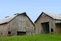 σιταποθήκες δύο Στοκ φωτογραφία με δικαίωμα ελεύθερης χρήσης