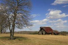 σιταποθήκη αγροτικό rusitic Tennessee Στοκ εικόνα με δικαίωμα ελεύθερης χρήσης
