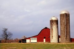 σιταποθήκη αγροτικό Tennessee Στοκ φωτογραφίες με δικαίωμα ελεύθερης χρήσης