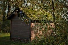 Σιταποθήκη στα ξύλα Στοκ Φωτογραφίες