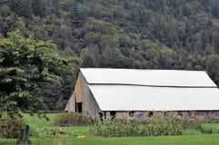 Σιταποθήκη στη κομητεία Skagit, Ουάσιγκτον στοκ φωτογραφία με δικαίωμα ελεύθερης χρήσης