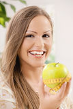 Σιτηρέσιο μήλων Στοκ Εικόνα