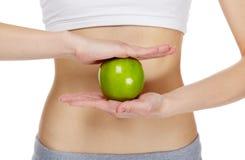 σιτηρέσιο μήλων Στοκ φωτογραφία με δικαίωμα ελεύθερης χρήσης