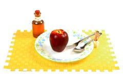 σιτηρέσιο μήλων Στοκ Φωτογραφίες