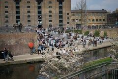 14/04/2018 σιτοβολώνας τετραγωνικό Λονδίνο UK Στοκ φωτογραφία με δικαίωμα ελεύθερης χρήσης