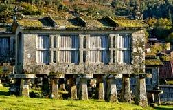 Σιτοβολώνες Lindoso στο εθνικό πάρκο Peneda Geres στοκ εικόνα