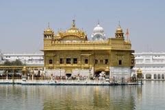Σιχ ιερός χρυσός ναός σε Amritsar, Punjab, Ινδία Στοκ φωτογραφία με δικαίωμα ελεύθερης χρήσης