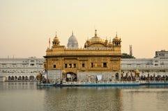 Σιχ ιερός χρυσός ναός σε Amritsar, Punjab, Ινδία Στοκ φωτογραφίες με δικαίωμα ελεύθερης χρήσης