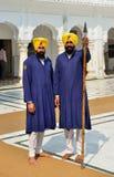 Σιχ φρουρά στοκ εικόνα με δικαίωμα ελεύθερης χρήσης