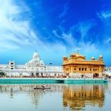 Σιχ χρυσό παλάτι στην Ινδία Στοκ φωτογραφία με δικαίωμα ελεύθερης χρήσης