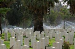 Σιωπή Βρετανικό νεκροταφείο WW Ι υλών συγκολλήσεως Πολεμικό νεκροταφείο Sheba μπύρας των βρετανικών υλών συγκολλήσεως στοκ εικόνες