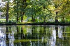 σιωπή θέσεων φύσης τοπίων λιμνών ψαράδων ομορφιάς Στοκ φωτογραφία με δικαίωμα ελεύθερης χρήσης