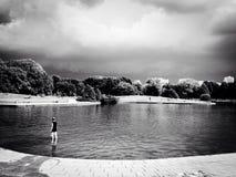 Σιωπή πριν από τη θύελλα Στοκ φωτογραφίες με δικαίωμα ελεύθερης χρήσης