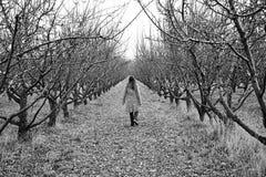 σιωπηλό περπάτημα Στοκ φωτογραφίες με δικαίωμα ελεύθερης χρήσης